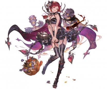 闇属性 レディ・グレイ ハロウィン グラブル スマホ ゲーム攻略 ブログ 03