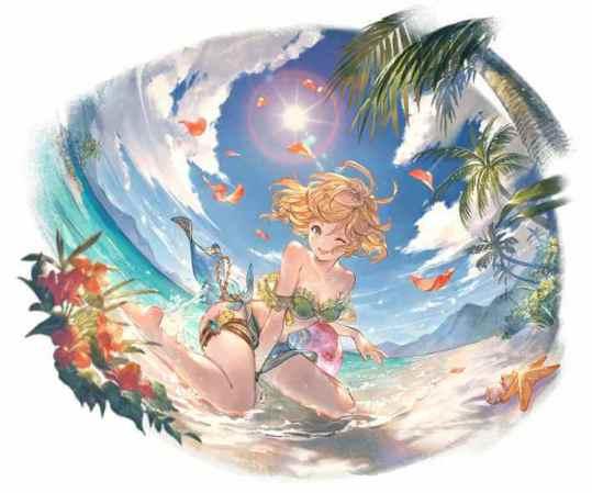 火属性 季節限定 水着 ティナ 限定 グラブル スマホ ゲーム攻略 ブログ SSR 03