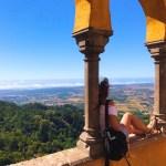 """【ポルトガル】世界遺産 カラフルなお城""""ペーナ宮殿""""と""""ムーアの城跡"""""""
