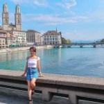【スイス】美しい街並 チューリッヒの1日観光