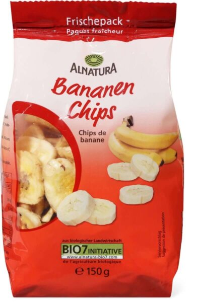 Alnaturaバナナチップス