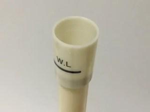 サイフォン管(オーバーフロー管)