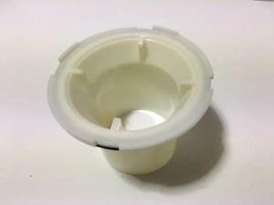 筒状の排水パイプ