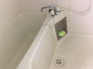 浴槽排水口の髪の毛は細めにとりましょう