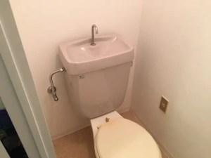 トイレ給水管漏れの場合は