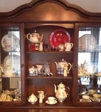 My China Cabinet Display the things you like instead of just storing them