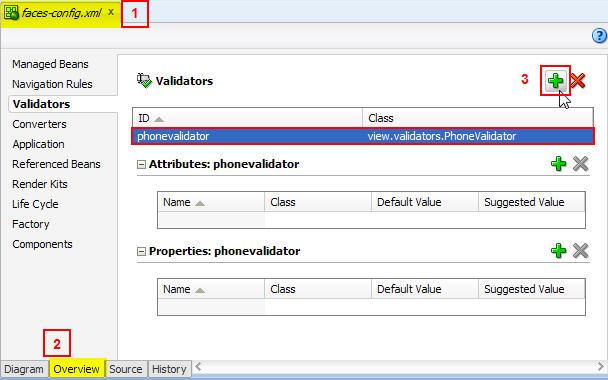 How to Create a Custom JSF Validator (2/3)