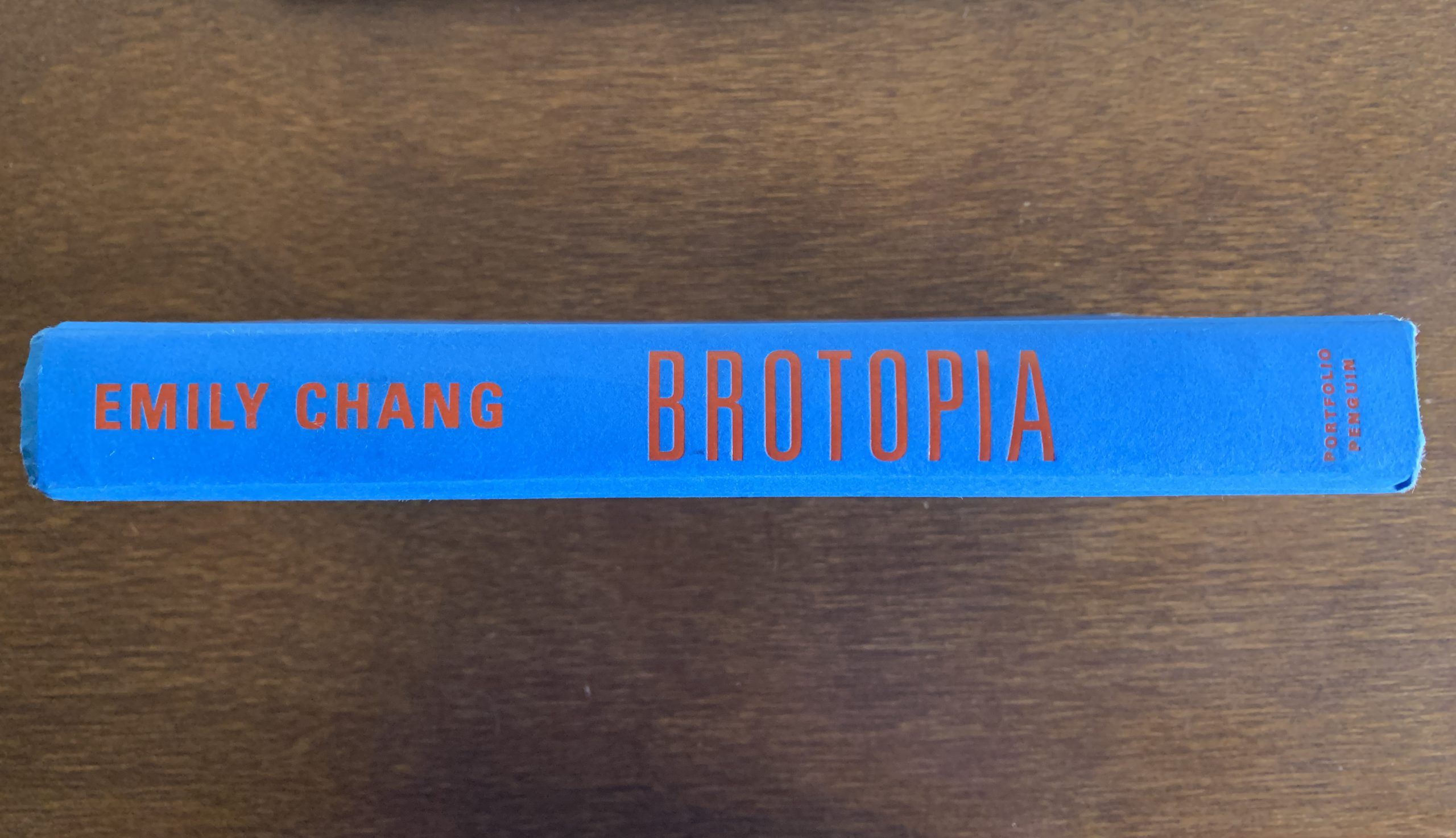 Brotopia - Chang Profile book