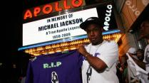 <> Michael Jackson is remembered on Various Locations on June 26, 2009 in New York City.