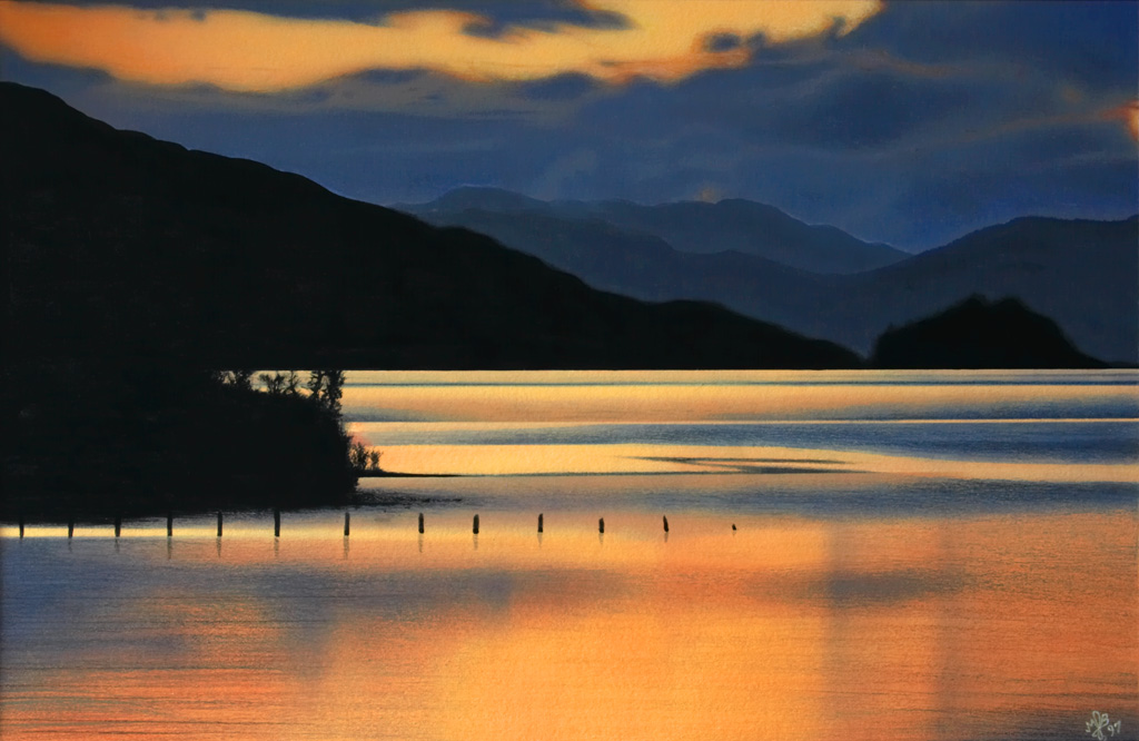 Loch Awe Sunset