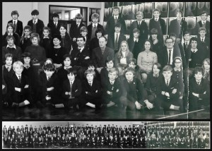Panoramic School Photo Restoration