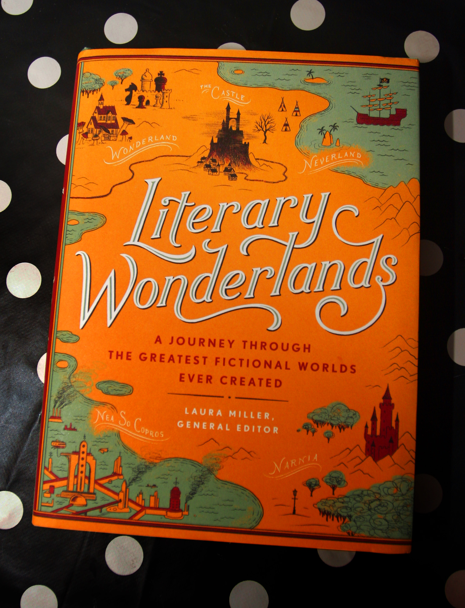 Artwork Published in 'Literary Wonderlands' Book