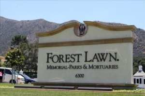 Forest Lawn Mortuary, where it is reported Michael Jackson's body is being held, CA