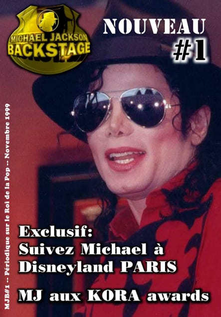 MJ Backstage numéro 1