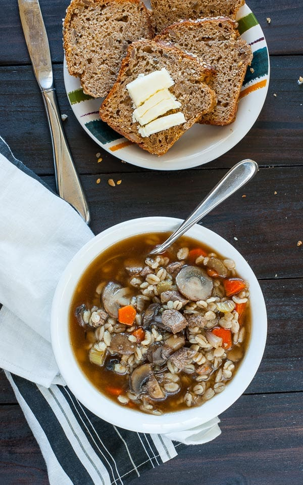 Rye Quick Bread. This is a moist, flavorful loaf that you'll love.   mjbakesalot.com