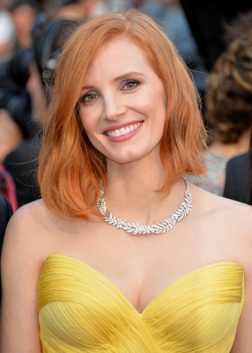 jessica chastain cannes piaget
