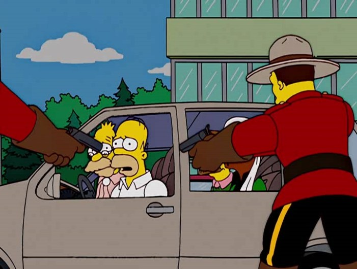 simpsons in canada for weed