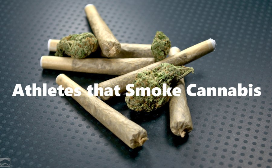 Athletes that smoke cannabis Cover
