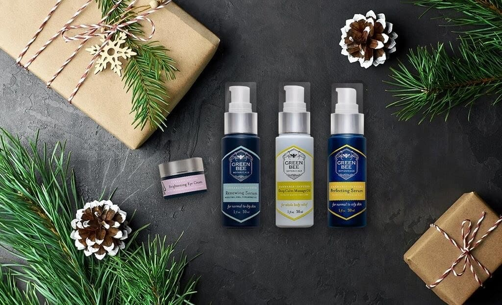Cannabis skincare holiday gift
