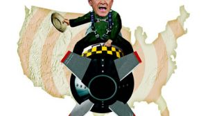 George Bush Dr. Strangelove