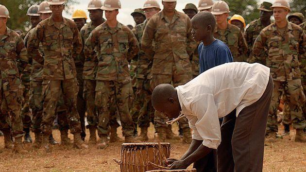 AFRICOM ceremony