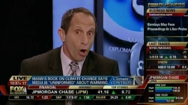Meteorologist Joe Bastardi, a prominent climate skeptic, on Fox News.