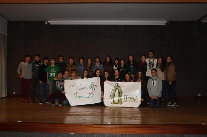 Foto de grupo de 3º y 4º de ESO