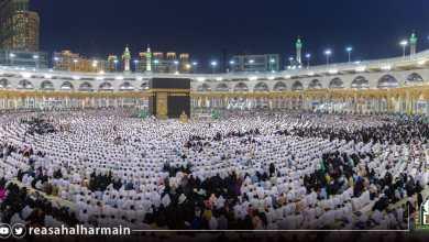 Photo of أكثر من مليوني ونصف مصلٍ ليلة ختم القرآن ، وسط خدمات متميزة