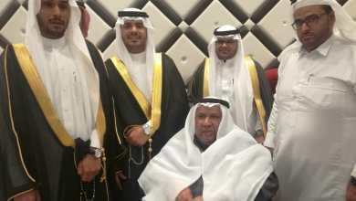 "Photo of الحويجي والبقشي والخرس يحتفلون بـ""عباس"" و""محمد"""