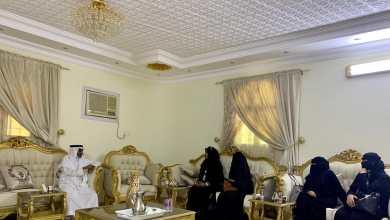 """Photo of """"رئيس تراحم جازان"""" يستقبل رئيسة ومنسوبات القسم النسائي .."""