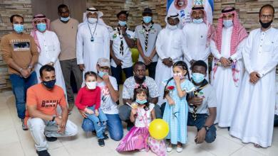Photo of فريق لإجلك ياوطن التطوعي و كوفي اصول القهوة يحتفلون باليوم العالمي للطفل