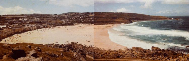 The impressive sands of St Ives, June 1985 - Marian Edmunds