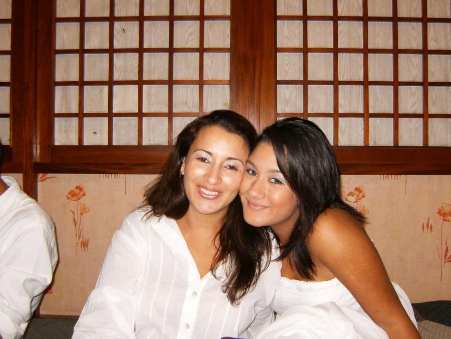 Daniela and her mom