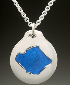 kezar lake pendant silver