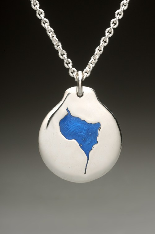 lower suncook lake pendant silver