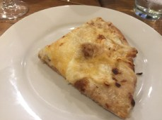 Cheese and caramelized onion flatbread