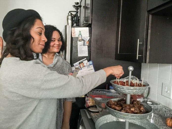 Guests & More Food!