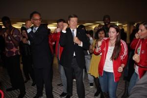 MJKO Crew Playing for Keeps with Toronto Mayor