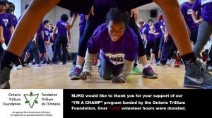 Over 1,000 volunteers hours donated to MJKO