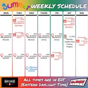 MJKO SYL July2021 Schedule