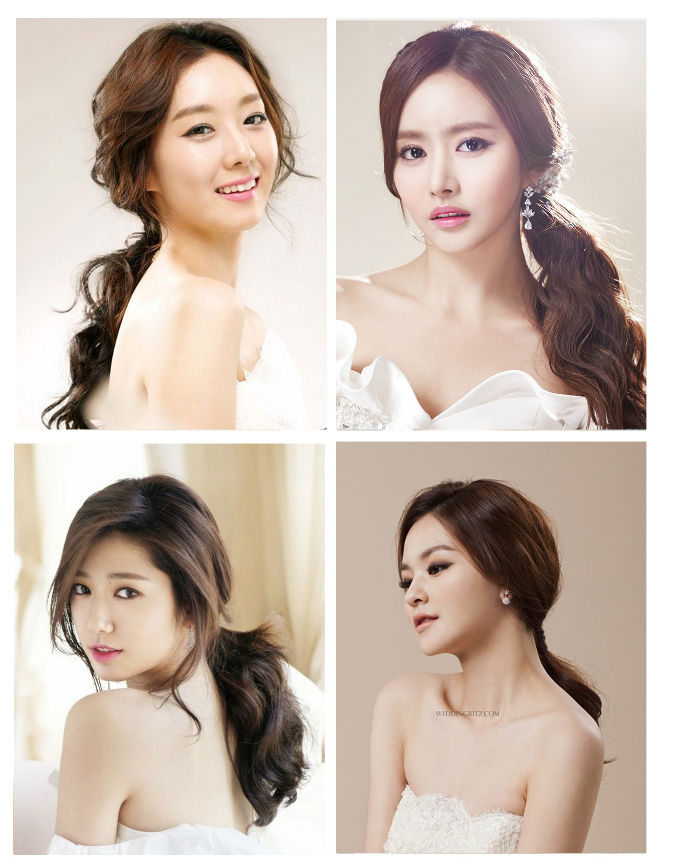 Korean Bridal Hairstyles | Trend Hairstyle and Haircut Ideas