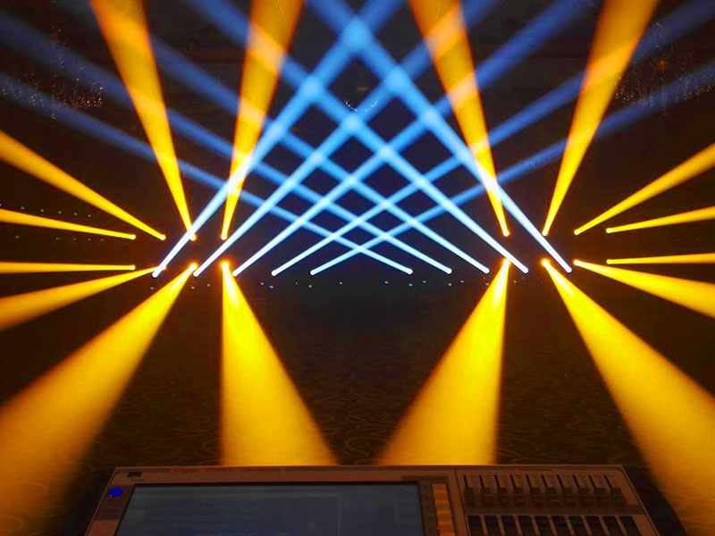 use of stage lighting system and