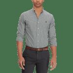Long Sleeve Stretch Poplin Sport Shirt – Slim Fit