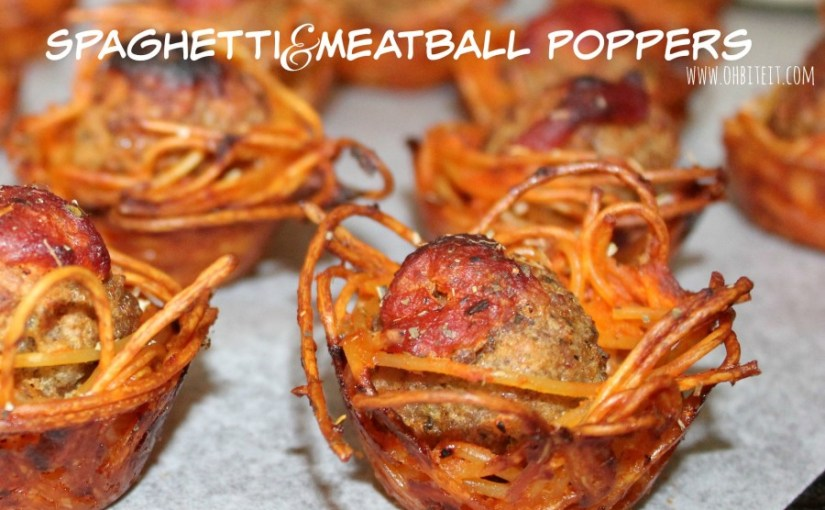 Spaghetti and meatball poppers just blew all other bite-size snacks out of the water