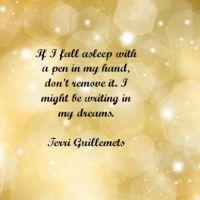 Writer's Quote Wednesday: Terri Guillemets