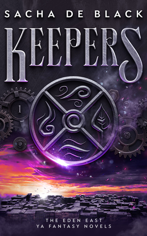 #YA #Fantasy #Book #Review – Keepers by Sacha De Black