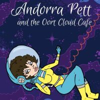 #BookReview Andorra Pett and The Oort Cloud Cafe #mystery #scifi