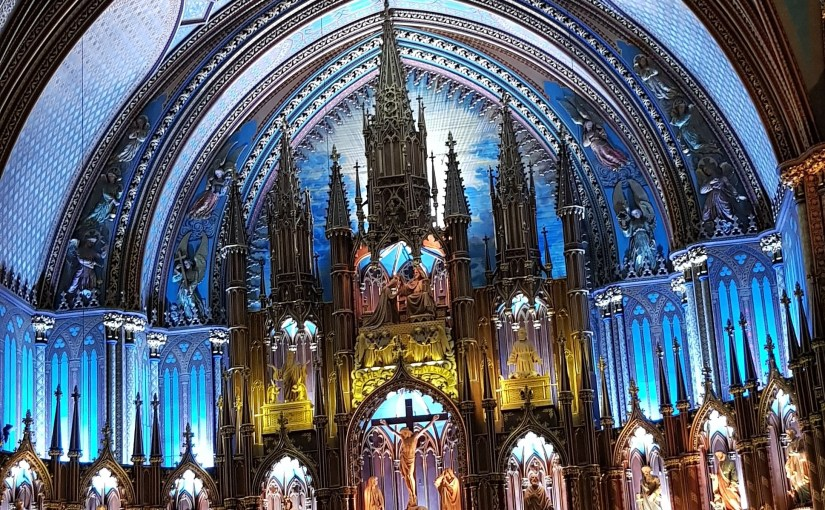 Notre-Dame Basilica #Montreal #Canada #travel #holiday