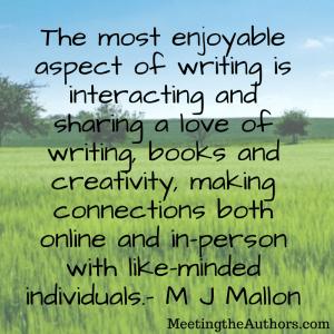Meet the Author: Mr. Sagittarius by M J Mallon – Meet The Authors