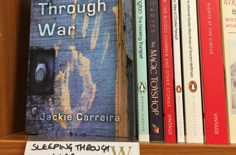 Book Review: Sleeping Through War by Jackie Carreira #Literary #Fiction #Historical #Womens